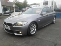 2012/ BMW 520 D M SPORT STEP S/S AUTO PADDLE SHIFT
