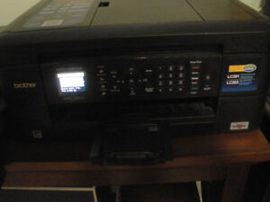 Brother Printer - Wireless, In Box Everything Included