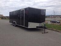 enclosed car or cargo trailer, 24 foot v nose