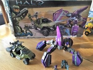 City and Halo Mega Blocks