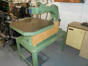 INDUSTRIAL SCROLL SAW West Island Greater Montréal image 2
