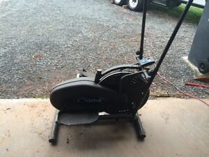 universal weights and eliptical exercise machine