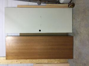 Two Interior Doors
