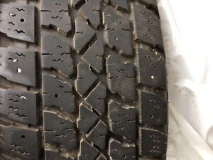 14inch Arctic Claw winter tire on rims