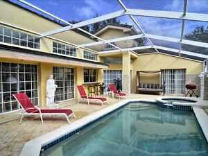 3Bed PoolHot Tub Courtyard, Gated Community, Minutes to Disney!