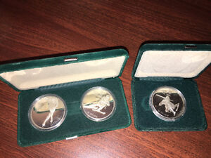 3 Calgary Winter Olympic Coins