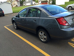2007 Saturn ION Blue grey Sedan