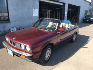 1990 BMW 325i convertible for sale