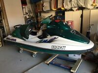 1997 Seadoo GTX - MUST SELL NO RESONABLE OFFER REFUSED