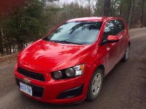 2013 extremely fuel efficient Chevy Sonic LS AND Winter Tires !!