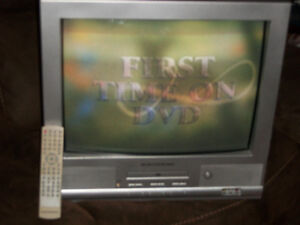 Older tv with dvd player