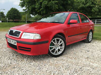 2005 Skoda Octavia 1.8 vRS Manual Petrol Sallon in Red (Mileage 86k)