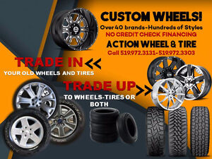 Trade in or Trade Up At Action Wheel & Tire