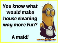 House cleaning, baking and laundry services