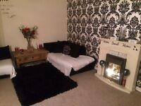 2 bed ground floor flat with garden