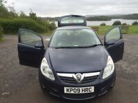 2009 Vauxhall Corsa club Eco flex 1.3 cdti diesel 5 door manual hatchback £30 a year tax