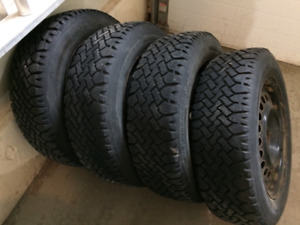 For sale winter tires and wheels