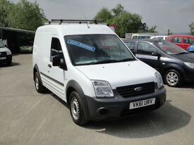 2011 Ford Transit Connect 1.8 TDCi T230 LWB Van. Only 54,000 miles. 1 owner. FSH