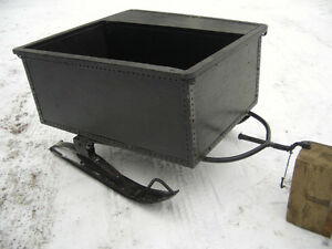 Custom built snowmobile sleigh