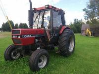 Tracteur case inter