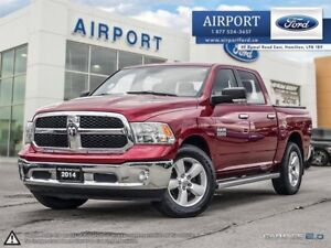 2014 Ram 1500 SLT 4WD Crew Cab with only 127,895 kms