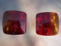 Motorcycle Trailer Tail Lights