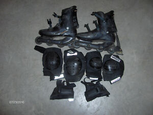 Full Roller Blade set of equipment