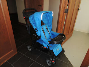 Joovy Caboose Ultralight Double Stroller