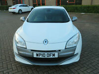 2010 10 RENAULT MEGANE 2.0 250BHP RS WITH FULL LEATHER+FSH+KEYLESS ENTRY