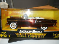 1955 Chevrolet Diecast American Muscle 1:18