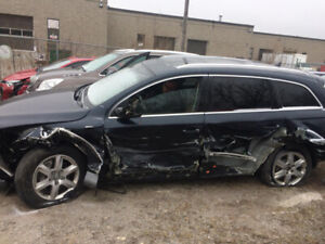 2012 AUDI Q7 ACCIDENT $6000 OR BEST OFFER