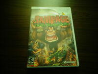 Rampage: Total Destruction video game for Wii GOOD CONDITION