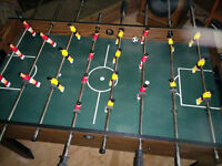 Full sized Foosball Table in Perfect Condition
