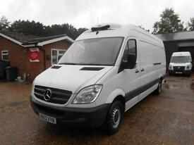 2013 MERCEDES SPRINTER 313 CDI LWB CHILLER VAN INSULATED/REFRIGERATED DIESEL