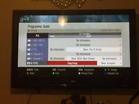 "LG 50"" tv Freeview & HD ready 1080p"