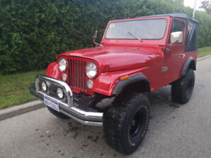Jeep Cj7 Amc 4,2L