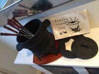 Fondue cooking set
