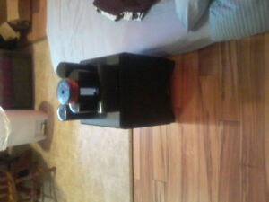 "Klipsch 12""Subwoofer and 5 Klipsch surround speakers"