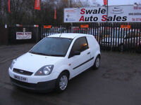 2006 FORD FIESTA 1.4TDCi DIESEL VAN IN GREAT CONDITION, GREAT FUEL ECONOMY