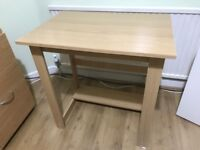 Small Beech Effect Desk