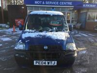 1 OWNER 2004 04 Fiat Doblo 1.9JTD Dynamic MPV DUAL PURPOSE