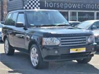 2008 Land Rover Range Rover 3.6 TD V8 Vogue 5dr Diesel black Automatic