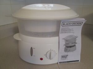 4 qt. vegetable steamer/rice cooker, brand new