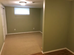 Basement suite for rent in South St. Vital.