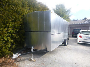 Enclosed 18' insulated trailer