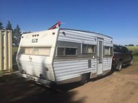 SOLD!!!- 1975 Travelaire Trailer