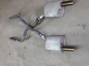 Mustang Gt mufflers and pipes