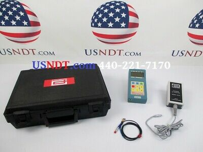 Panametrics 22 Thickness Gage Ultrasonic Flaw Detector Ndt Olympus Ge