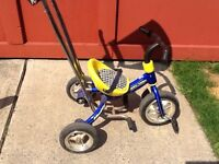 A great tricycle with sun protection