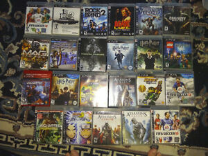 A ton of PS3 games and Peripherals